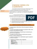 Los Programas Radiales y Los Avisos Publicitarios