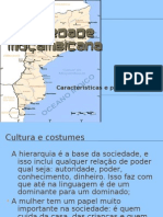 A SOCIEDADE MOÇAMBICANA