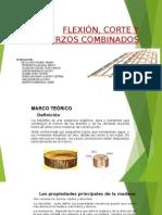 Madera Flexion, Corte y Esfuerzos Combinados