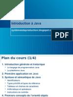 Cours de Java Complet