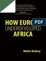 Rodney How Europe Underdeveloped Africa