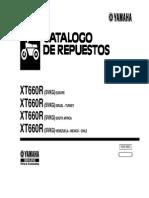 manual xt 660 despiece