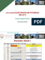 Clase N° 01 - ML 511 - 23-03-2015