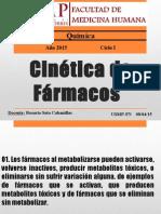 Cinètica de Farmacos