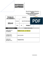 Ta Finanzas II - 2014-II