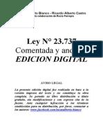 Ley 23.737 Comentada