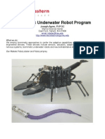 Biomimetic Underwater Robot Program