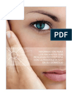 Fototerapia - Informacion Para Pacientes