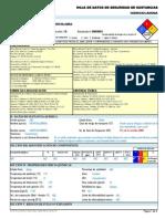 Hidroxilamina Hds Formato 13 Secciones, Qmax