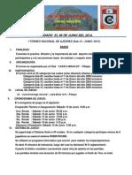 Bases I Torneo Nacional de Ajedrez Cerro Mirador