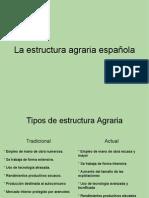 La Estructura Agraria Espanola