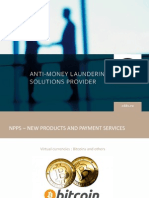 Presentation - Virtual Currency - Money Laundry