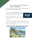 Como Evitar o Prevenir La Contaminacion Del Agua