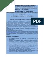 Normas de Presentacion de Trabajos Cientificos