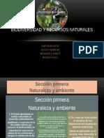 Biodiversidad y Rvecursos Naturales