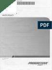 Progressive Automobile Insurance Iowa Policy Form 9611D IA 201410 Version 1