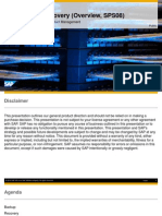 SAP.hana Backup.recovery Overview SPS8