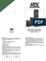 Mtx Audio Mtx Monitor Series Monitor60i Monitor6c Monitor5i Monitor600i