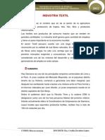 Informe Trabajado 3 -Mercado Texil
