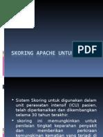 Skoring Apache Untuk Icu Ppt