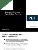 Propuesta Curatorial Obras Con Texto José Gil