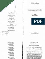 Gijom de Loris - Roman o Ruzi