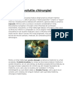 proiect istoria chirurgiei