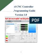 Mach4 Lathe GCode Manual