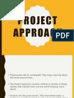 Project Approach for preschooler
