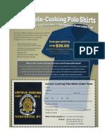 Lincoln-Cushing Camp Polo Shirt Response Form