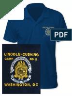 Lincoln-Cushing custom polo shirt now available