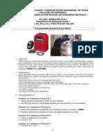 Practica 4, 5, 6 y 7 Soldadura Arco Electrico