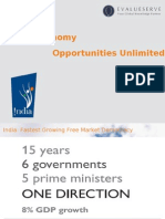 IBEF Presentation on Indian Economy Opportunities