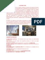 informe ILUMINACIÓN