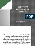 Contrato Individual de Trabajo Derecho Procesal