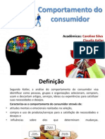 Comportamento do Consumidor.