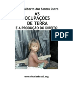 Carlos Alberto dos Santos Dutra - As OcupaçSes de Terra e a Produç¦o do Direito