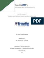 Modelos para evaluar la calidad de los productos software