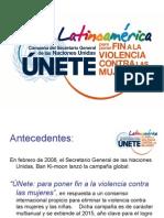 Unidos Para Poner Fin a la Violencia Contra las Mujeres y Niñas