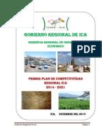 Plan de Competitividad 2014 2021