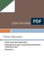 Mikrobiologi Pertemuan 6(Antibiotik)