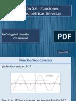 Seccion 5.6 Funciones Trigonometricas Inversas (1)