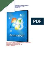 Micro Servidor Virtual KMS Para La Activacion Offline De