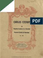 24 Pequeños Estudios de La Velocidad, Op. 636