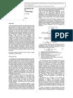 Development of Radiant Burner Methane-pure Oxygen