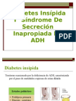 diabetes insipida y siadh.ppt
