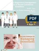 Rhinosinusitis Consensus Journal Reading