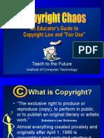Copyright Chaos
