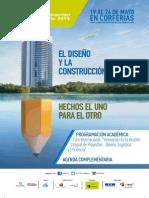 Expoconstruccion Expodiseno 2015 Agenda Foro