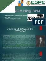 Andrés Amores-Potencia HP@RPM